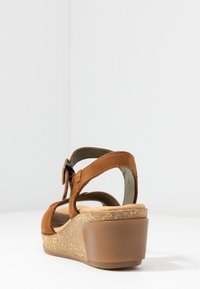 El Naturalista - LEAVES - Platform sandals - wood - 5