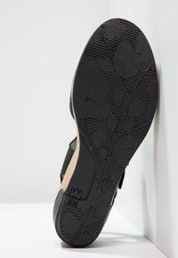 El Naturalista - LEAVES - Platform heels - black - 5