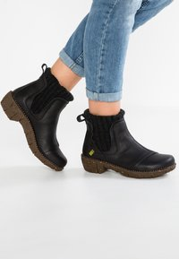 El Naturalista - YGGDRASIL - Classic ankle boots - black - 0