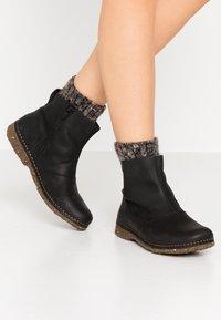 El Naturalista - ANGKOR - Classic ankle boots - pleasant black - 0