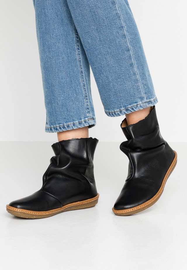 CORAL - Classic ankle boots - iris black