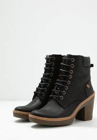 El Naturalista - HAYA - High heeled ankle boots - pleasant black - 4