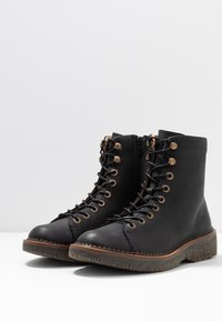 El Naturalista - VOLCANO - Lace-up ankle boots - black - 4