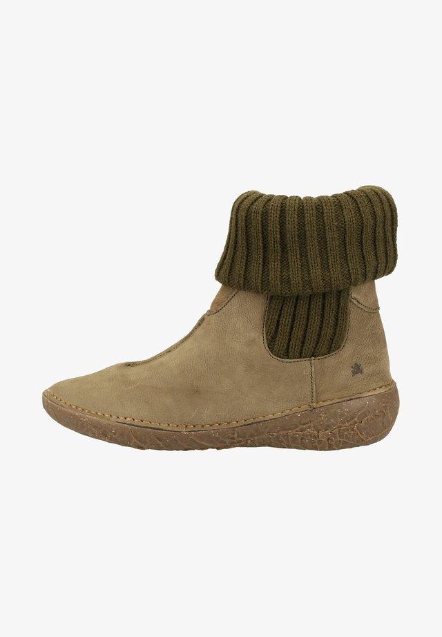 Ankle boots - kaki