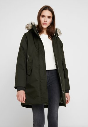 ADELINA - Winter coat - greenkhaki