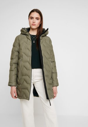 ESTER - Winter coat - silver green