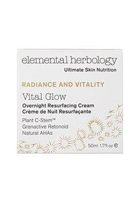 Elemental Herbology - VITAL GLOW OVERNIGHT CREAM 50ML - Natpleje - neutral - 2