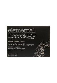 Elemental Herbology - MACADAMIA & PAPAYA BODY SCRUB 200ML - Scrub corpo - neutral - 1