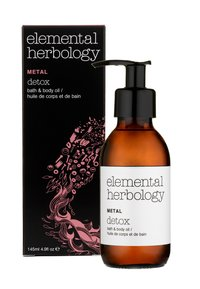 Elemental Herbology - METAL DETOX BATH & BODY OIL 145ML - Body oil - neutral - 1
