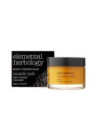 Elemental Herbology - MUSCLE MELT BALM 50ML - Idratante - neutral - 1