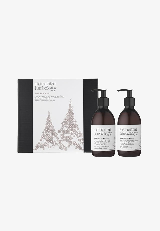 SEASONS RITUALS BODY WASH & CREAM DUO - Kit skincare - -