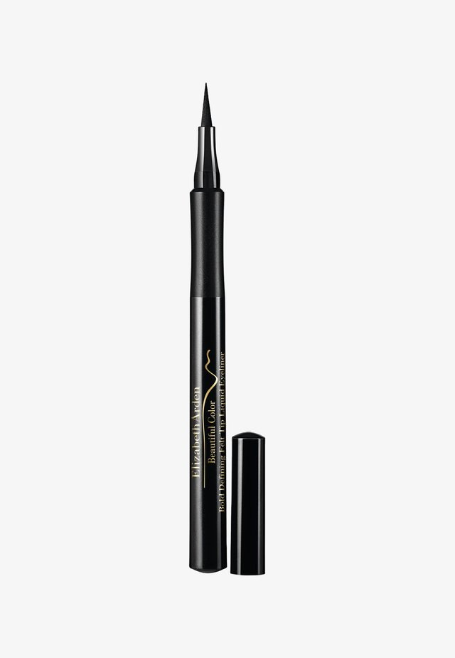 BEAUTIFUL COLOR BOLD DEFINING FELT TIP LIQUID EYELINER SERIOUSLY - Eyeliner - seriously black ww