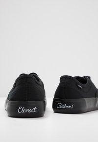Element - PASSIPH - Obuwie deskorolkowe - flint black - 5