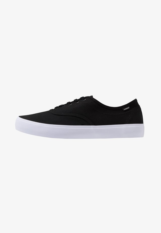 PASSIPH - Zapatillas skate - black/white
