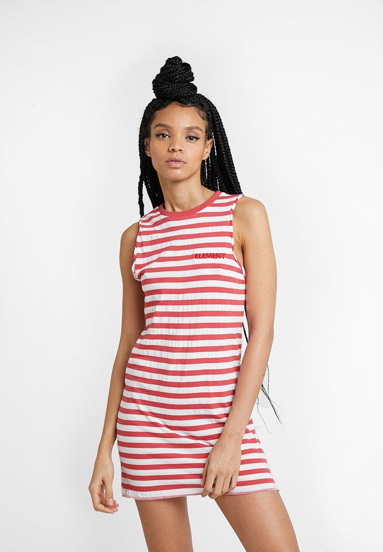 Element - PLEASE - Jersey dress - raspberry