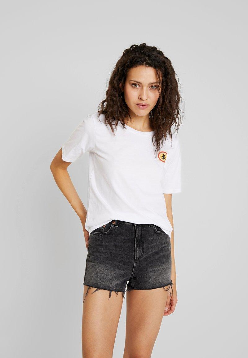Element - BARREN - Print T-shirt - white