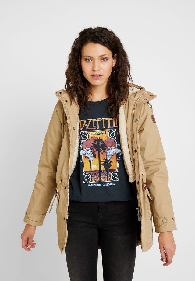 ROGHAN WOMEN - Winter coat - desert khaki