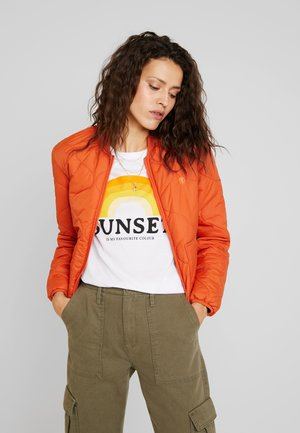 NORTHWOODS WOMEN - Bomber bunda - burnt ochre