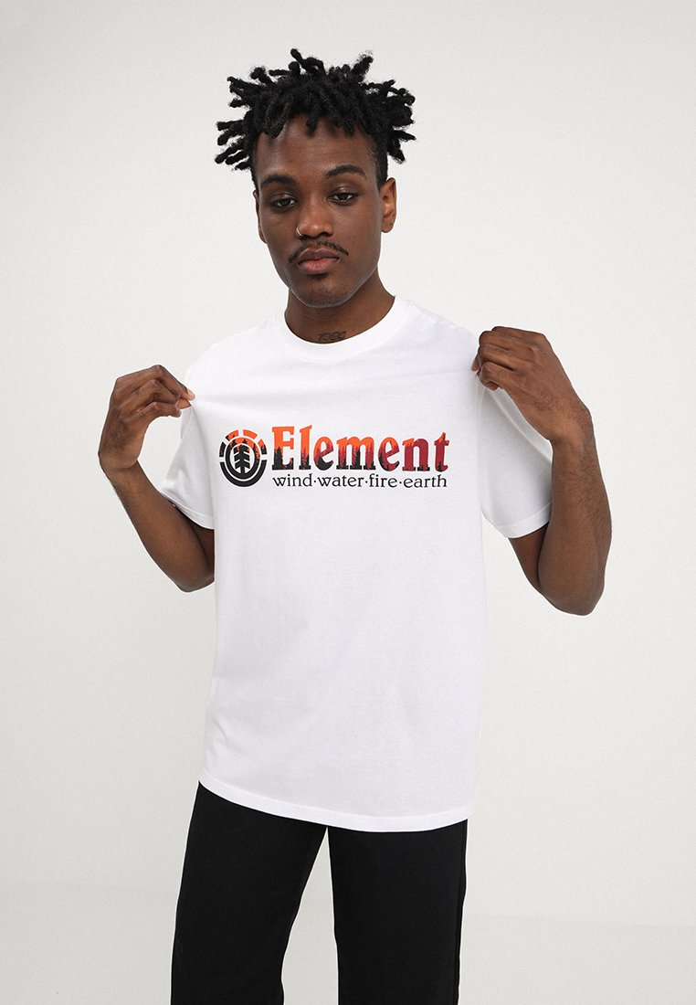 Element - GLIMPSE HORIZONTAL - T-Shirt print - optic white
