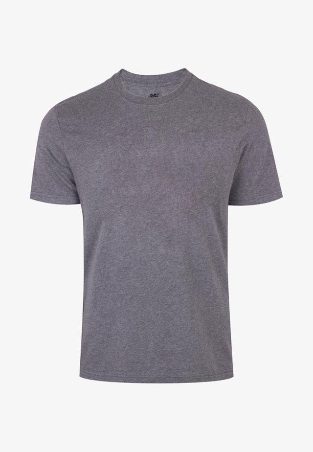 Basic T-shirt - grey heather