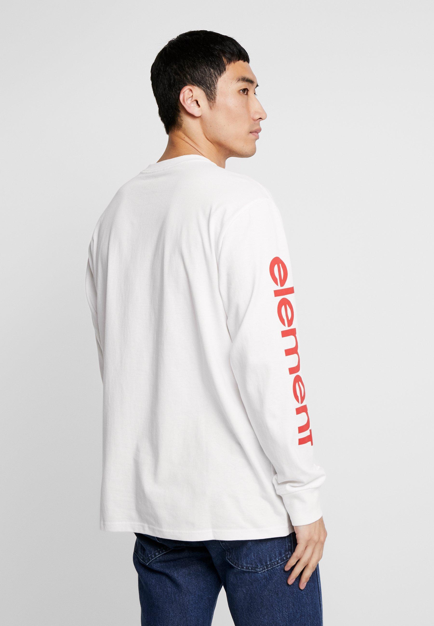 À Longues White shirt Off Manches Element PrimoT 5LA34jqR