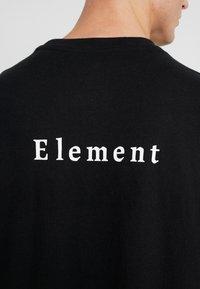 Element - TEE - Printtipaita - flint black - 5