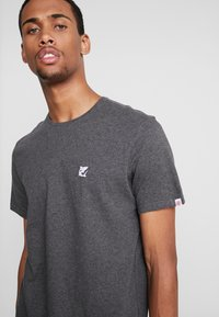 Element - CURRENT - Printtipaita - charcoal heather - 3