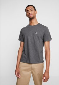 Element - CURRENT - Printtipaita - charcoal heather - 2
