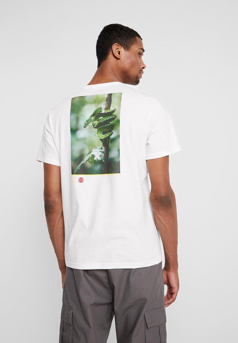 Element - SERPENT  - Printtipaita - off white