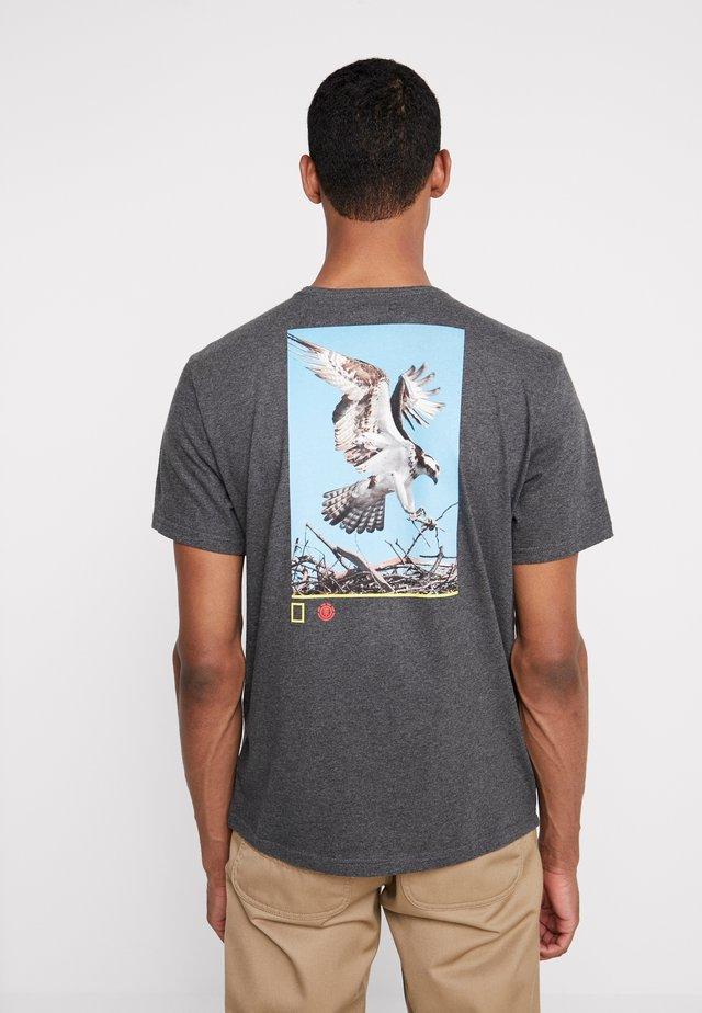SOAR  - T-shirt print - charcoal heathe