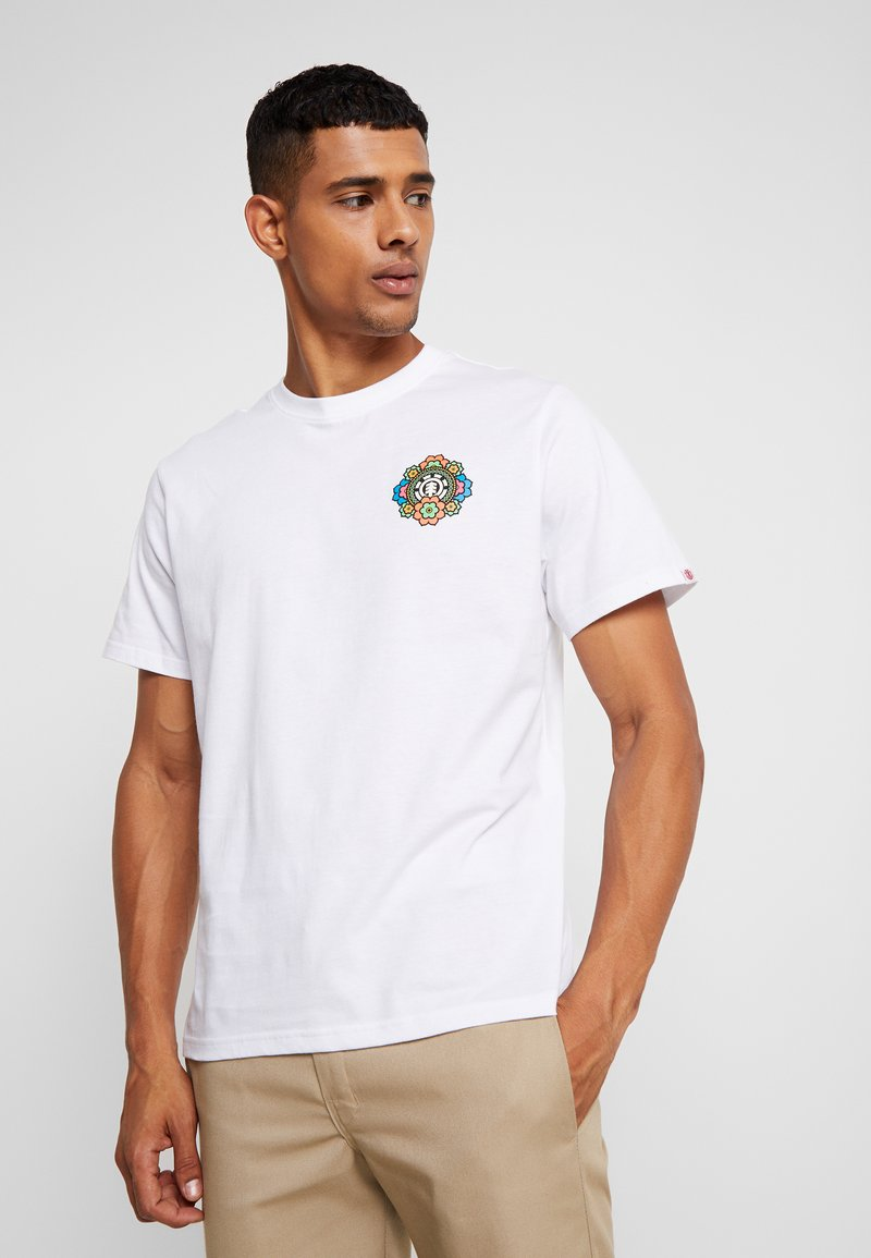 Element - ABYSS  - T-Shirt print - optic white
