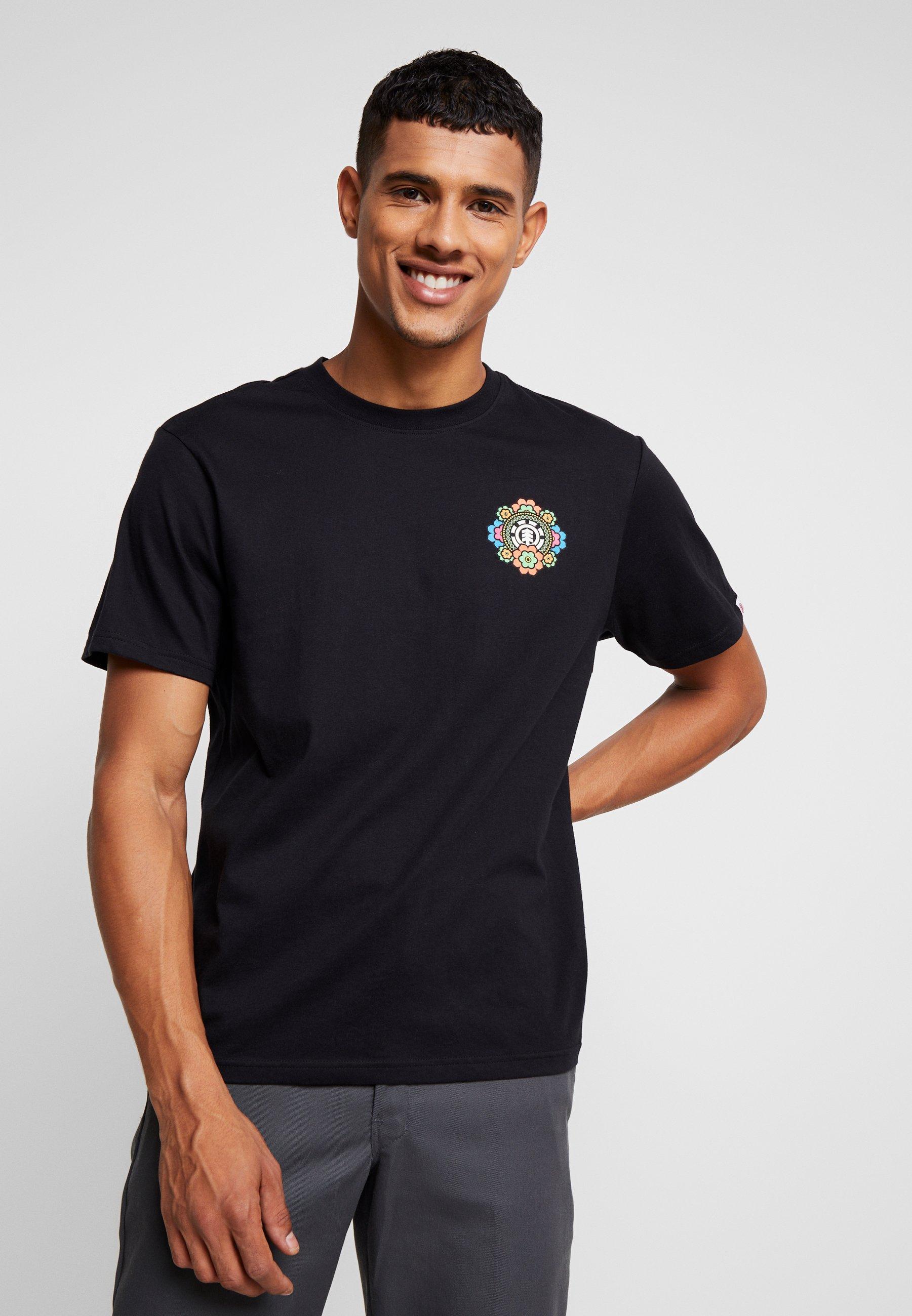 Black Imprimé Element Flint AbyssT shirt H2D9EI
