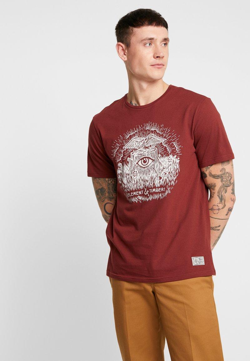 Element - TOO LATE STUMP - T-Shirt print - port