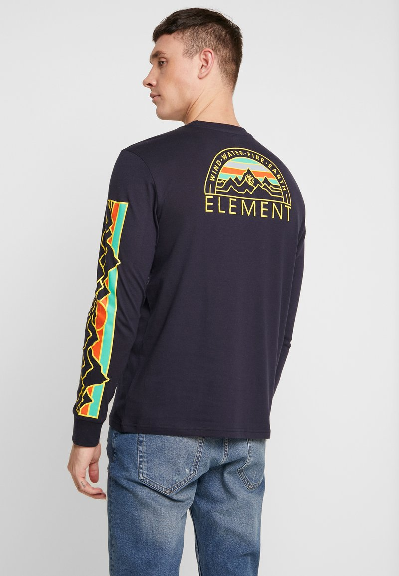 Element - ODYSSEY - Pitkähihainen paita - eclipse navy