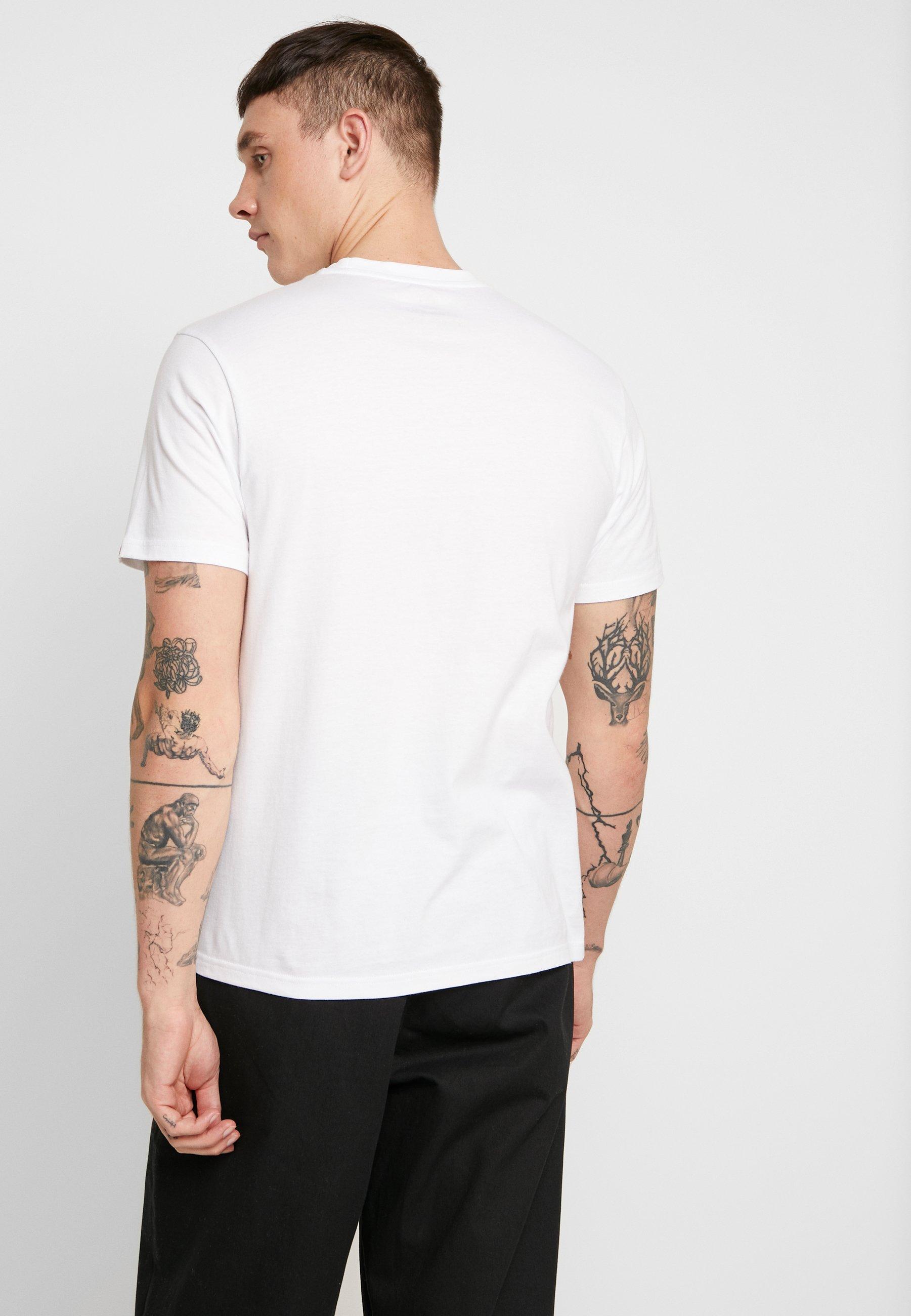 Element MULTI ICON - Camiseta estampada optic white