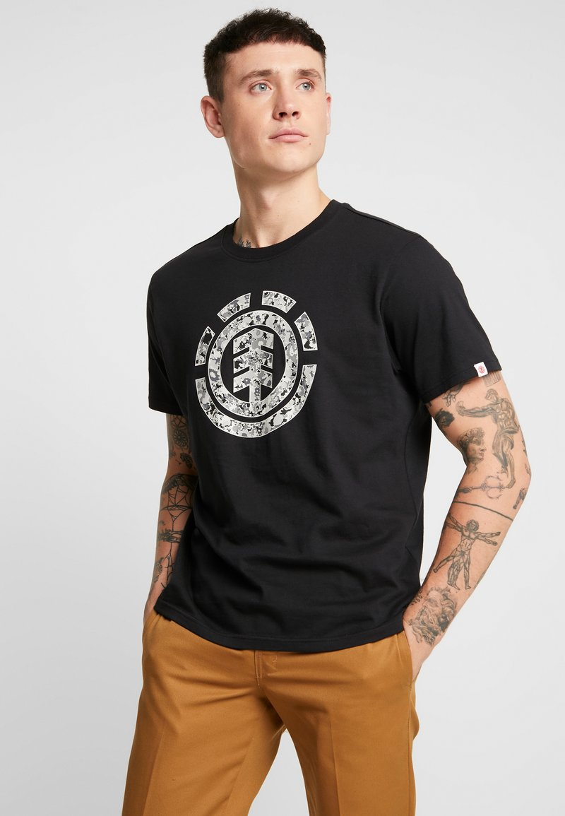 Element - MULTI ICON - T-Shirt print - flint black