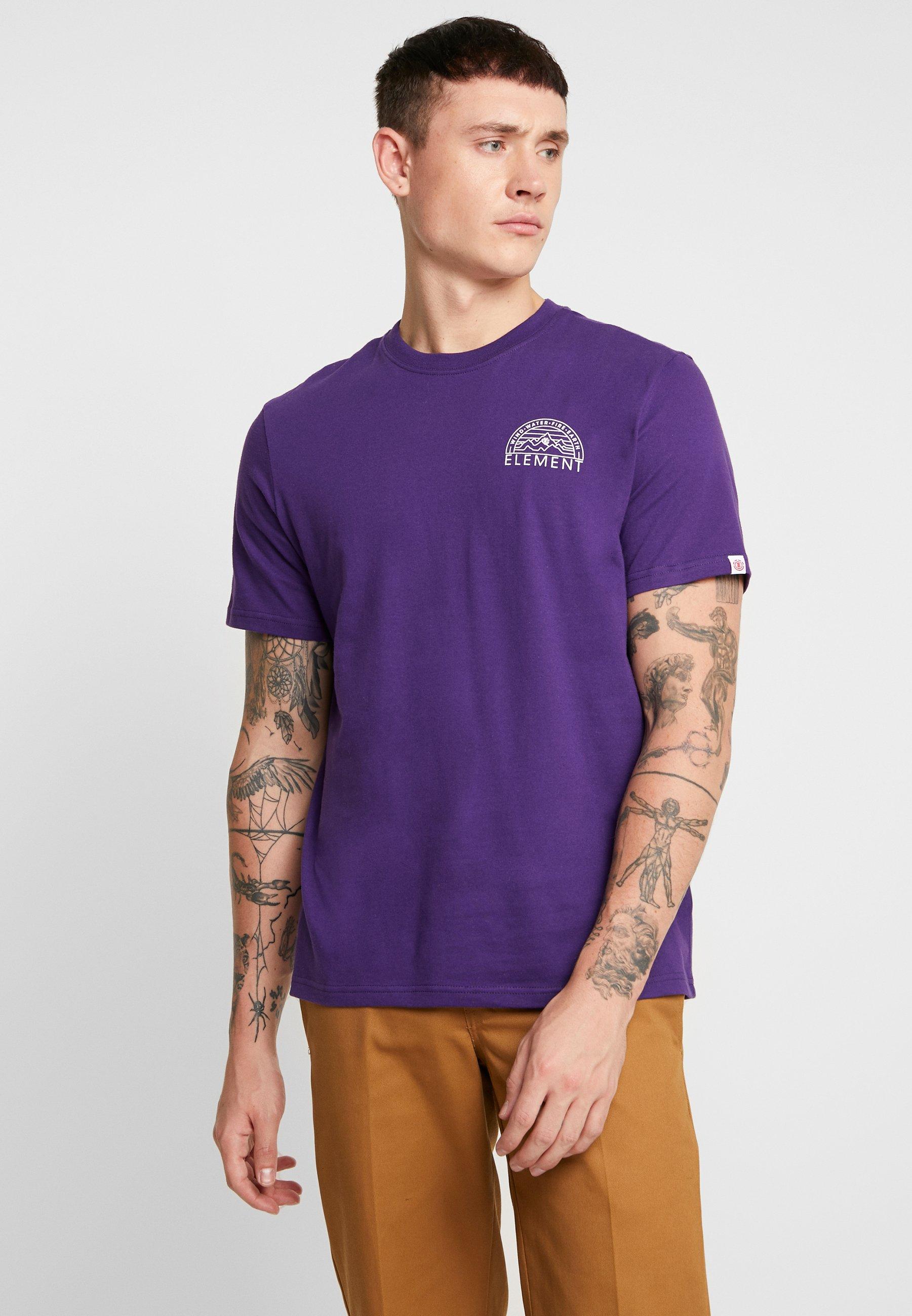 Imprimé Imprimé Element shirt OdysseyT OdysseyT shirt Acai Element srCQdxth