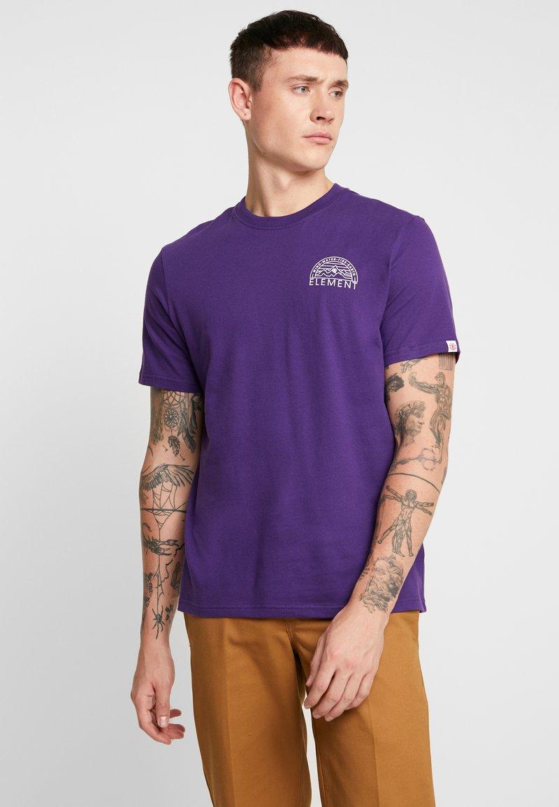 Element - ODYSSEY - T-Shirt print - acai