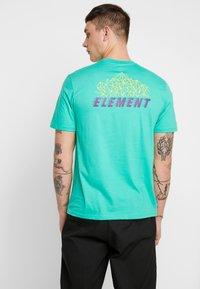 Element - SYSTEM - Printtipaita - mint - 2