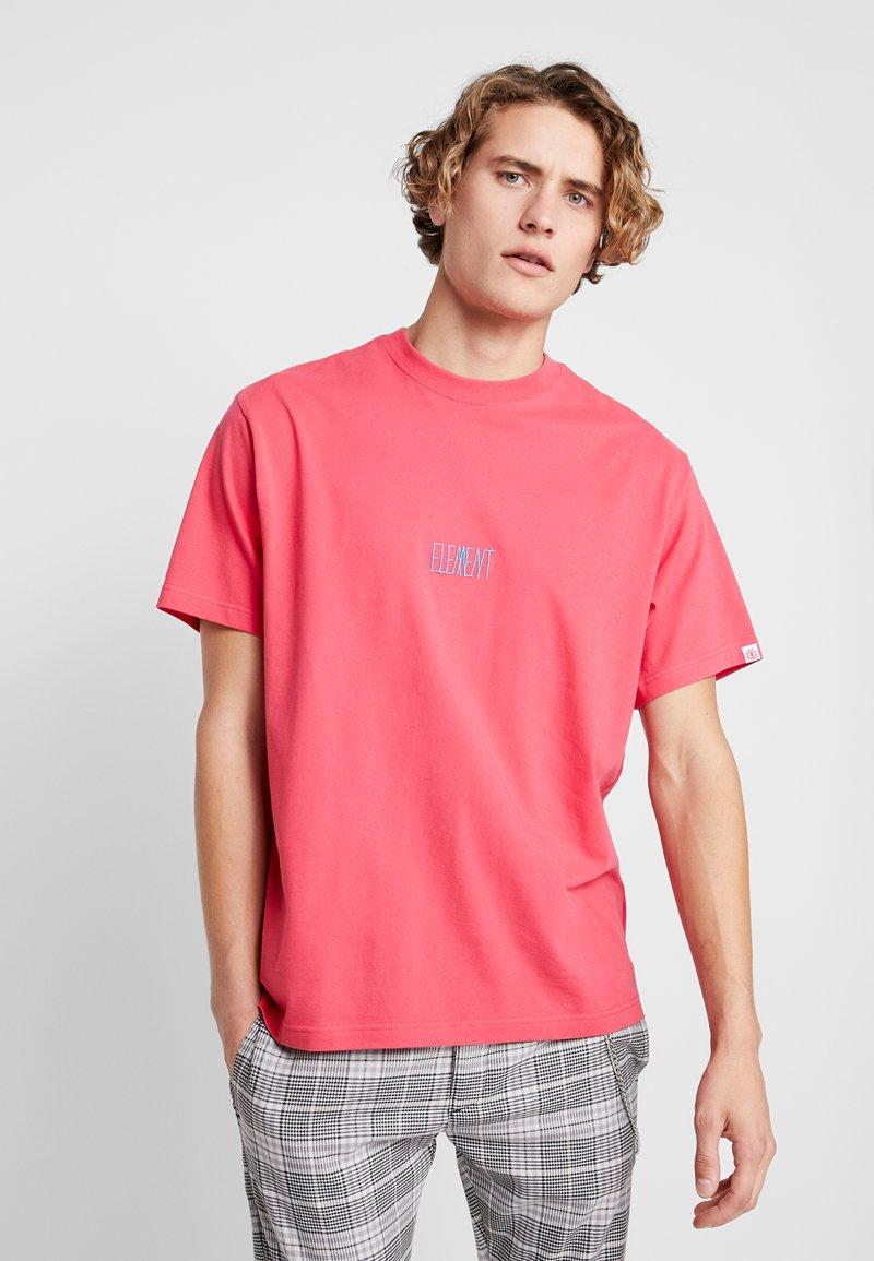 Element - T-Shirt print - hot pink