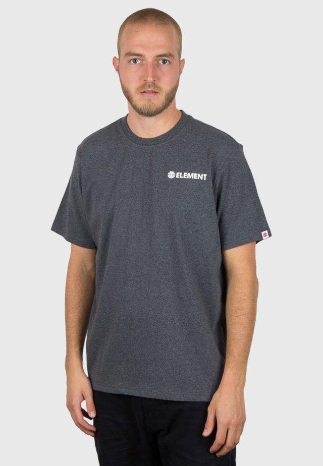 BLAZIN CHEST - Print T-shirt - charcoal heather
