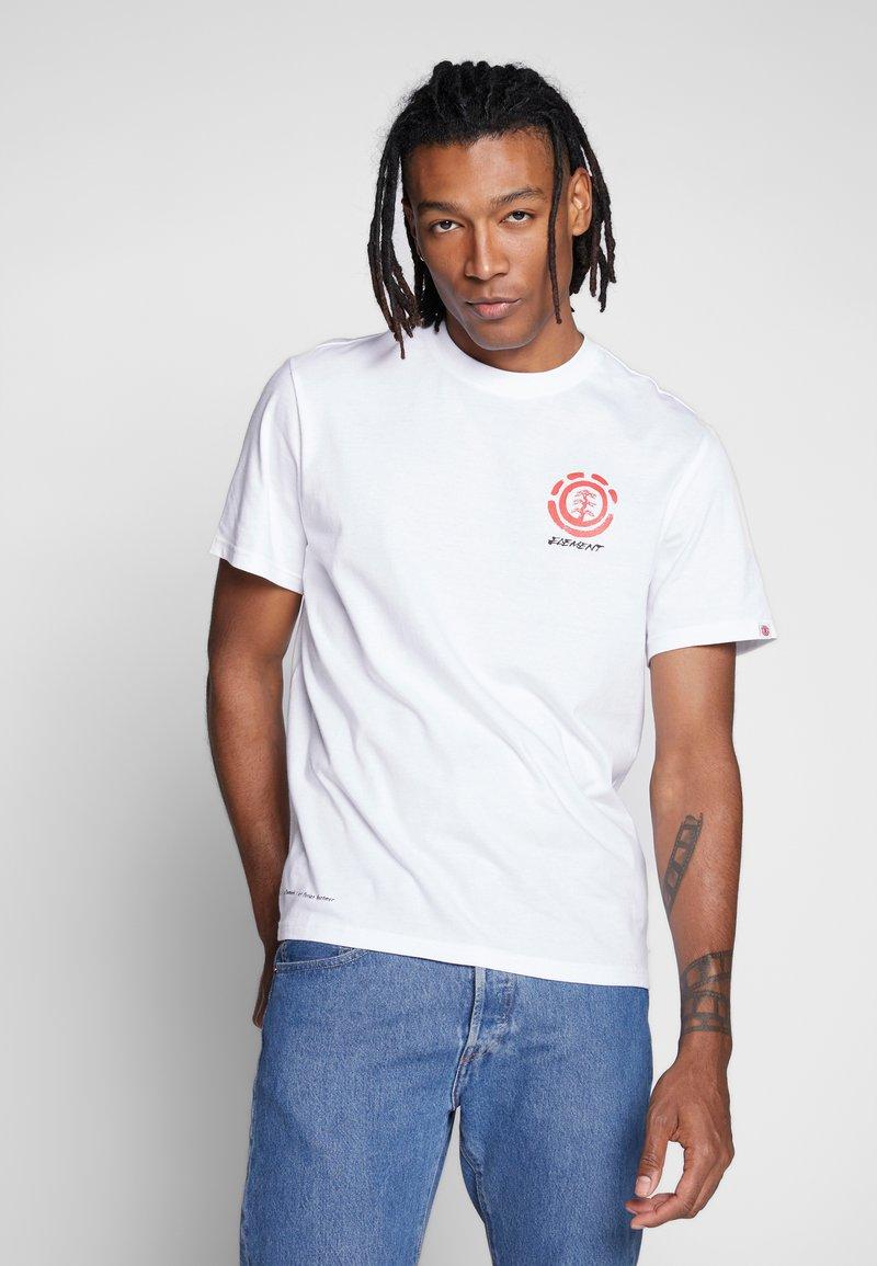 Element - T-shirts print - optic white