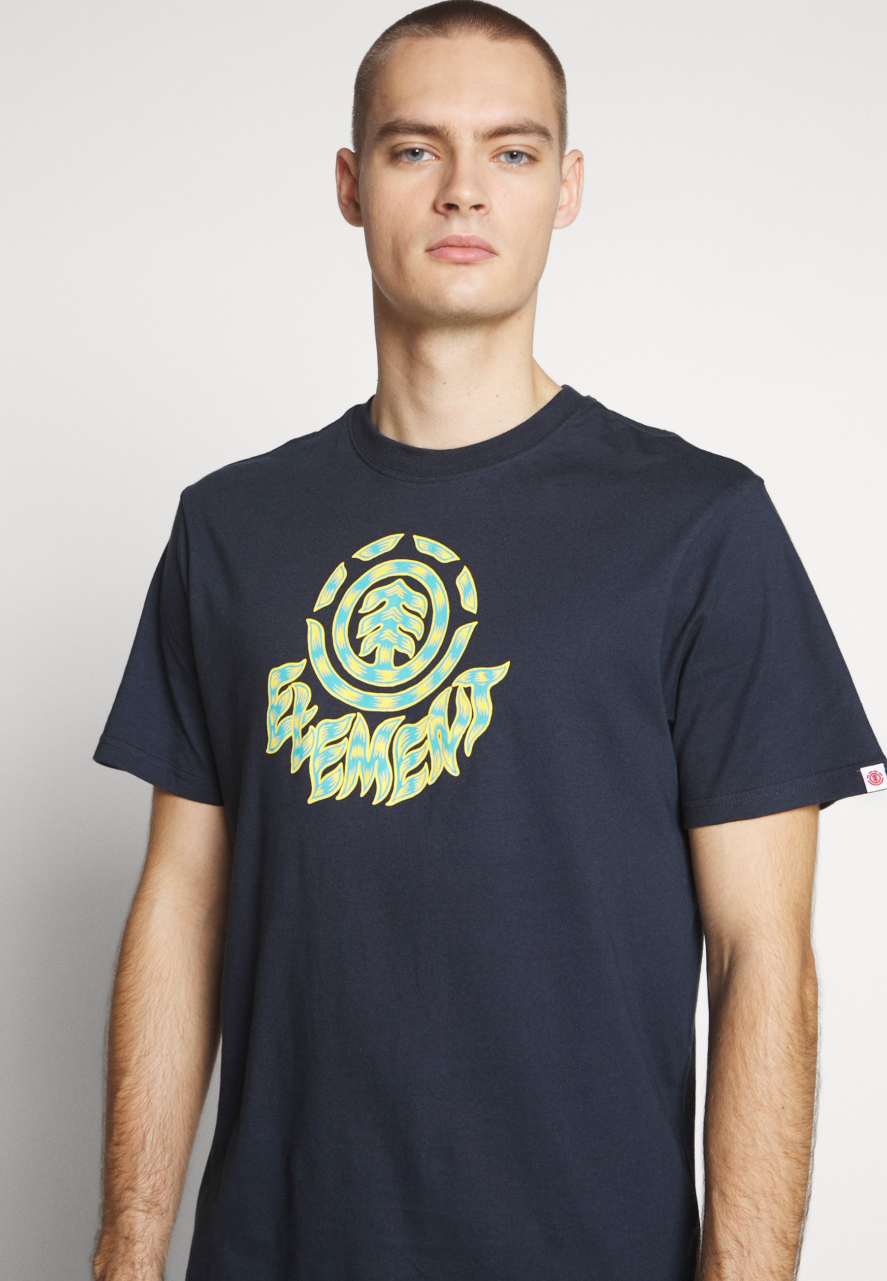Element Remus - T-shirt Med Print Eclipse Navy