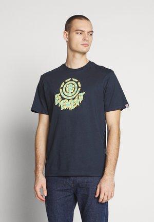 REMUS - T-shirts print - eclipse navy