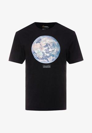 EARTH - T-Shirt print - flint black