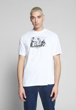 BAD BRAINS - T-shirts print - optic white
