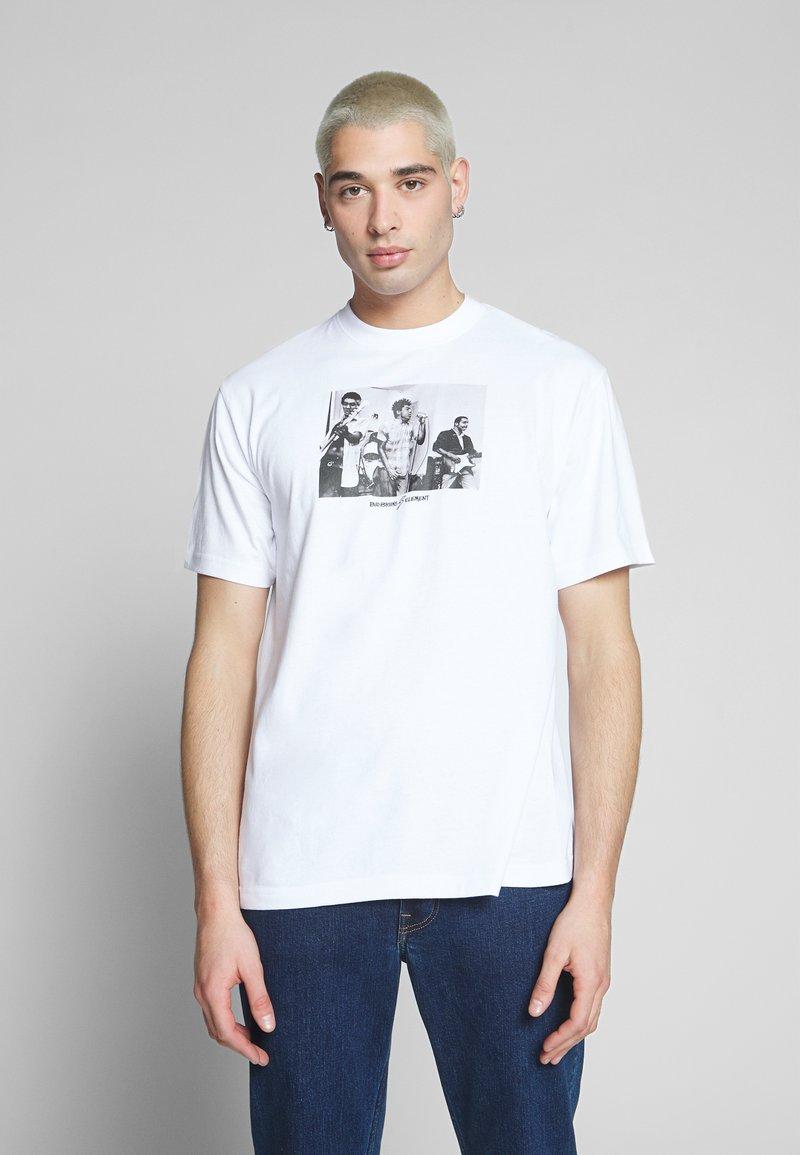 Element - BAD BRAINS - T-shirts print - optic white