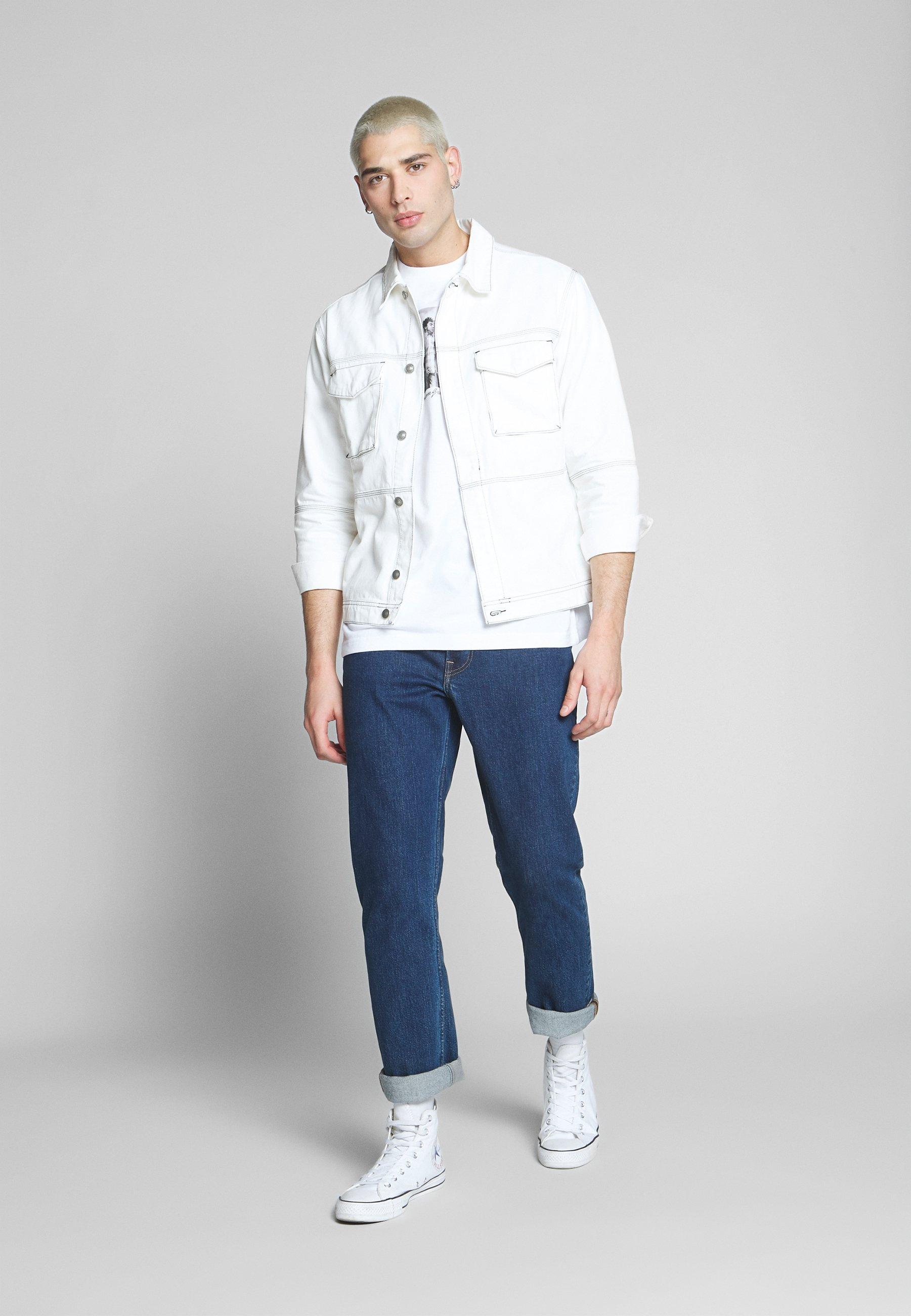 Element BAD BRAINS - T-shirt z nadrukiem - optic white