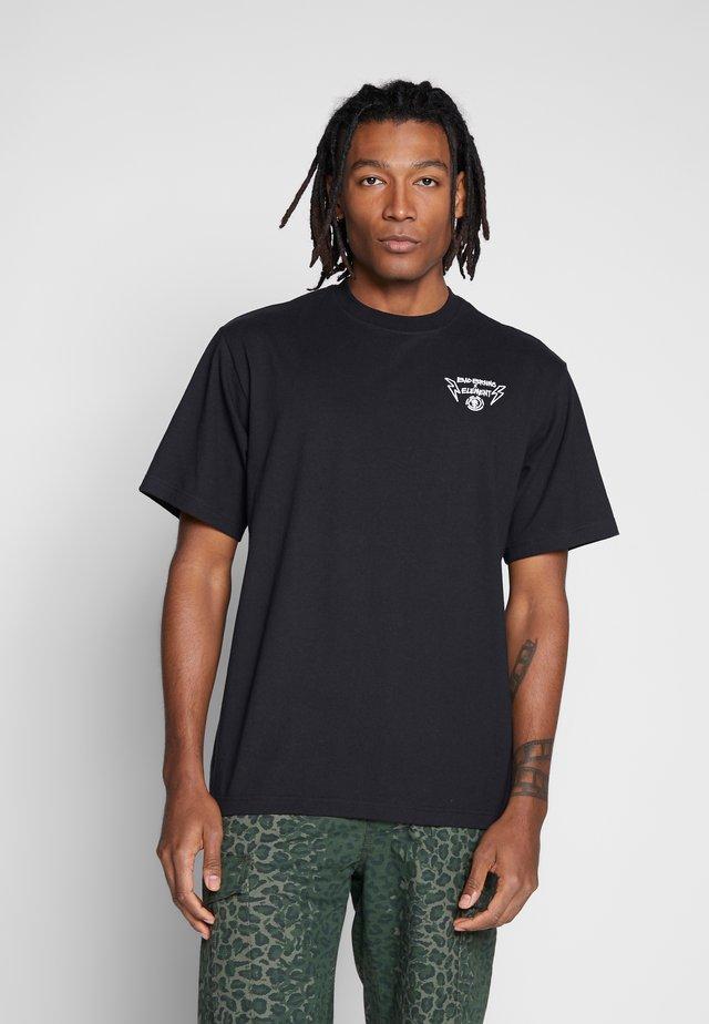 BOLT LOCK - T-shirt z nadrukiem - flint black