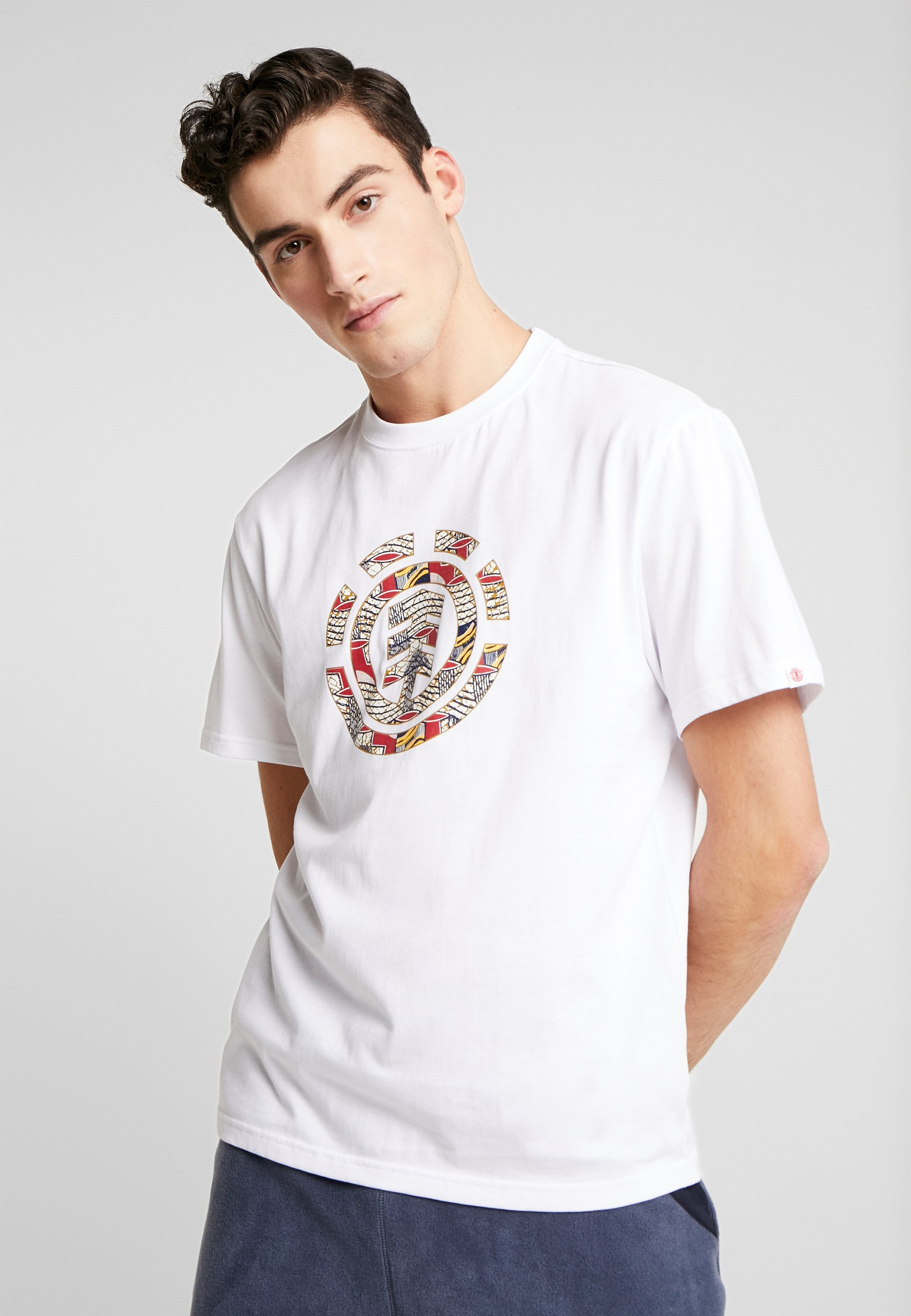 Element ORIGINS ICON - T-shirt z nadrukiem - optic white